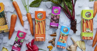 Rugani adds new bursts of flavour to its range of veggie extract juice